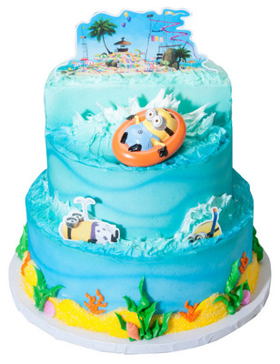 Despicable Me  Beach Party Cake Kit